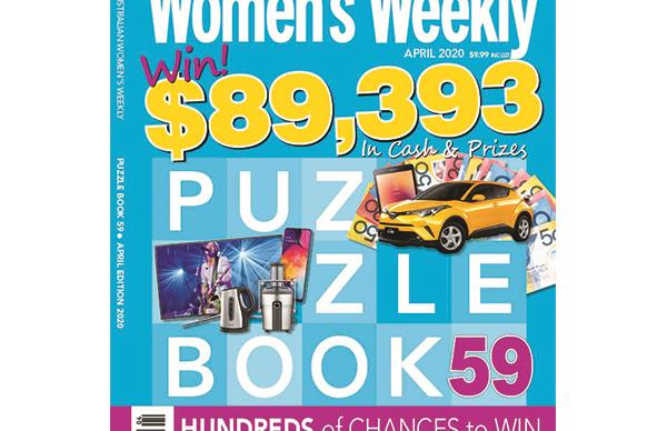 The Australian Women's Weekly Puzzle Book Issue 59