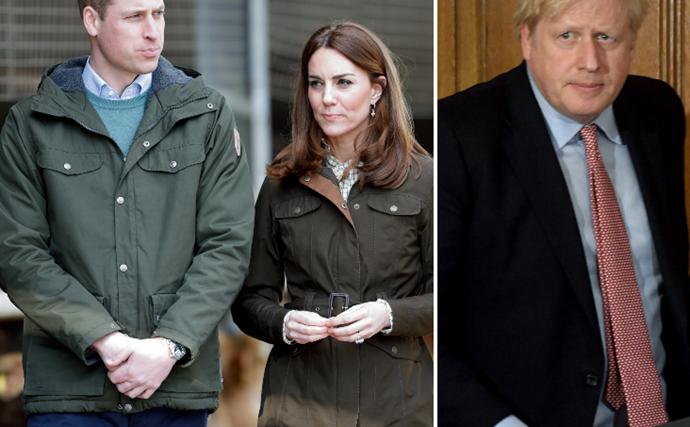 Prince William and Duchess Catherine send a rare personal message to British PM Boris Johnson in intensive care