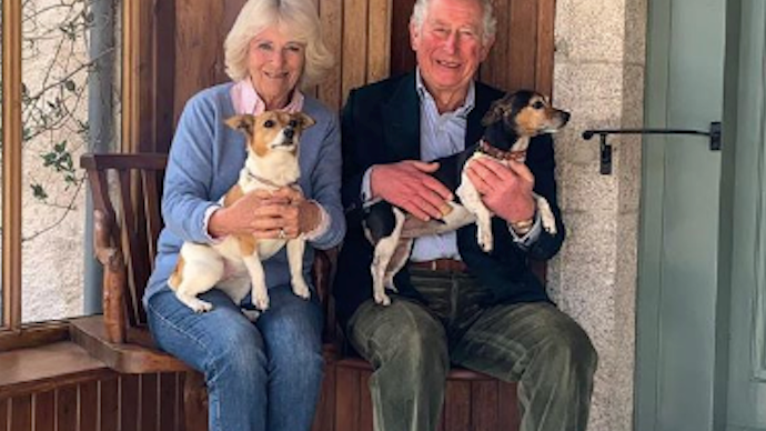 Prince Charles and Duchess Camilla share a beautiful, new image from their day in lockdown as they celebrate their wedding anniversary