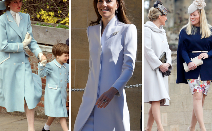 Cocoa couture: The greatest Easter outfits worn by royals over the years