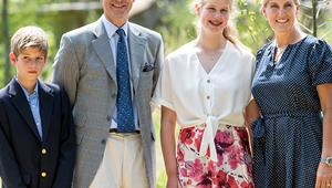 Prince Edward and Countess Sophie of Wessex's best family photos