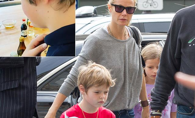 Gwyneth Paltrow shares rare home footage of son Moses cooking up a storm in isolation