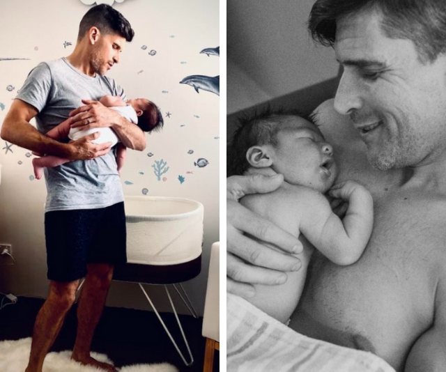 The sweetest snaps of The Bachelor host Osher Gunsberg and his son Wolfie