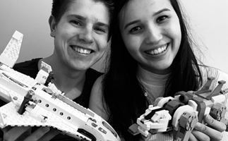 Lego Masters couple Kaitlyn and Miller are still together