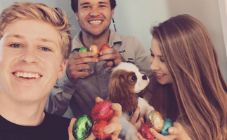 Eggs-cellent Easters: Isolation didn't stop your favourite stars celebrating the occasion