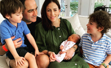 The most adorable photos of Lisa and Wippa's newborn daughter Francesca