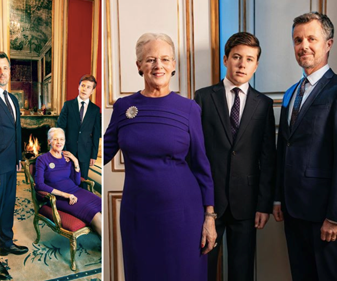 Rare and striking new portraits of the Danish royal heirs released to mark The Queen's 80th birthday
