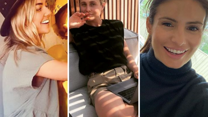 The stars of Home & Away are dishing out serendipitous fashion-inspo from isolation, and we're taking notes