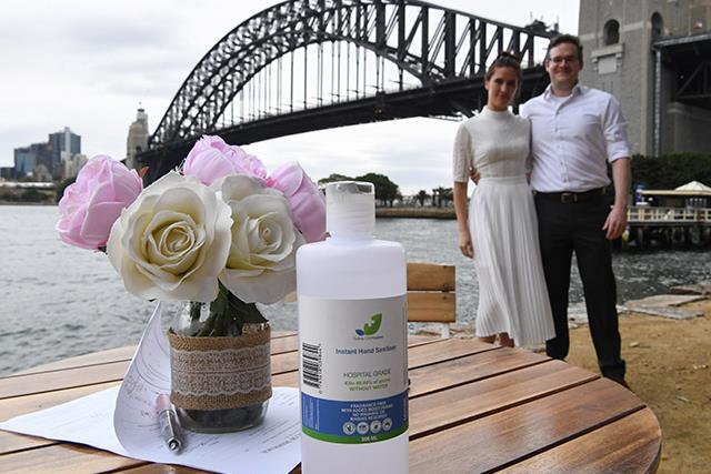 Still want to get hitched in the midst of the coronavirus? See how these couples are adapting their weddings