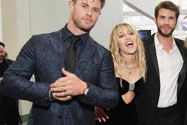 Chris Hemsworth makes a subtle swipe at brother Liam Hemsworth's ex-wife Miley Cyrus