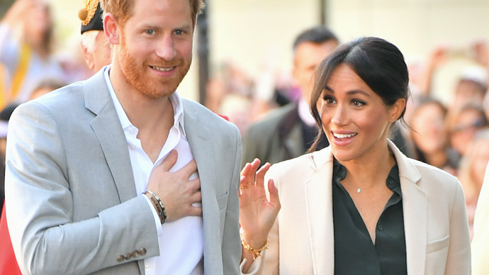 Prince Harry & Duchess Meghan spotted in Hollywood delivering some very special food packages