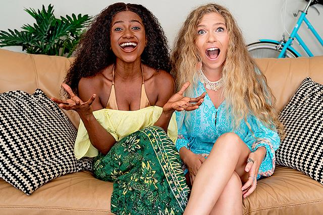 Gogglebox newbies Kaday and Chantal talk their favourite shows and reveal if they'd ever be Bachelorettes