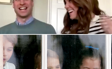 Duchess Catherine & Prince William's refreshing, and rather comic approach to isolation with the kids revealed