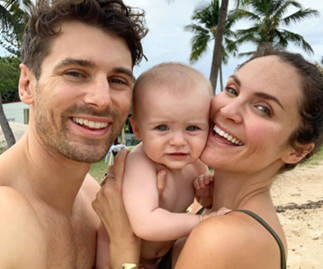 EXCLUSIVE: Matty J and Laura Byrne share how isolation has changed their wedding plans, Marlie-Mae's first birthday and their TV return