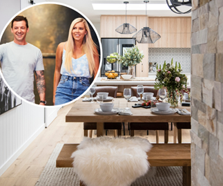 Bamboo in the bedroom, eco-friendly escapes and a light-filled oasis:  Inside House Rules stars Kayne and Aimee's home transformation