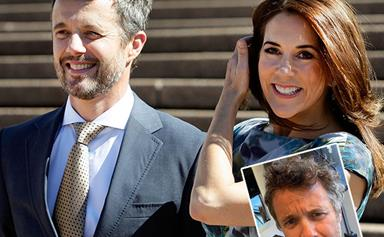 Crown Prince Frederik just shared a hilarious before-and-after shot from his lockdown haircut