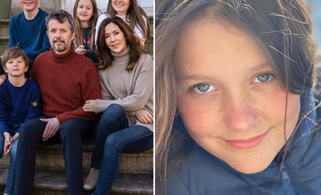 Crown Princess Mary reveals five never-before-seen photos of Princess Isabella in honour of her 13th birthday