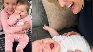From the cute to the chaotic: The best snaps of Fifi Box's adorable daughters Trixie and Daisy