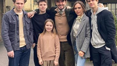 From simple selfies to luxury holidays: The Beckhams' best family photos