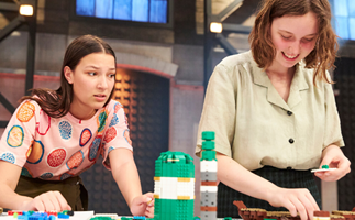 Drama on the Lego Masters set: Tantrums, tears and a shock walkout!
