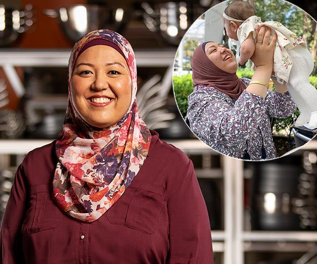 EXCLUSIVE: MasterChef's Amina says the show was her maternity leave after giving birth to her daughter