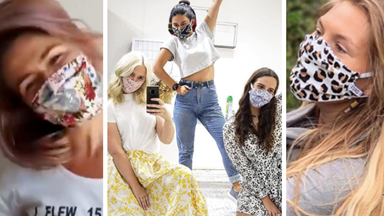 Aussie fashion brands are using their style prowess to create some seriously snazzy face mask designs amid COVID-19
