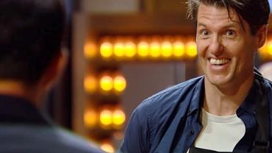 EXCLUSIVE: MasterChef's Ben Milbourne says he knew he was leaving just by looking at judge Andy Allen
