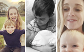 Former Home and Away star Penny McNamee is a proud mum-of-two - and her little ones will steal your heart in 28 pictures