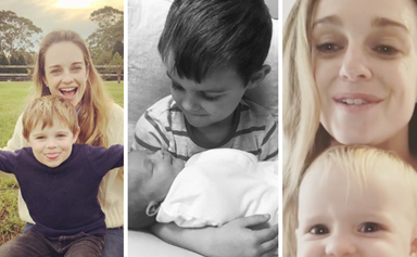 Home and Away's Penny McNamee has two kids who will steal your heart in 15 pictures