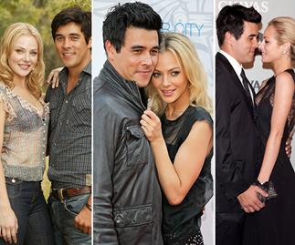 Rafters romance: James Stewart and Jessica Marais' ill-fated love story in pictures