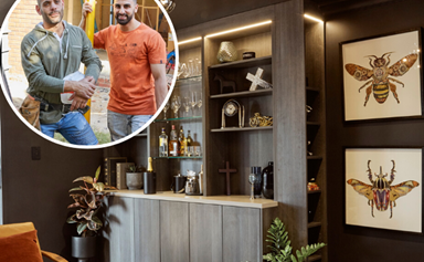 From a VIP lounge to a dining room fit for families: Inside George and Laith's House Rules transformation