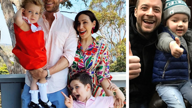Hamish Blake and Zoe Foster Blake's cutest family moments caught on camera
