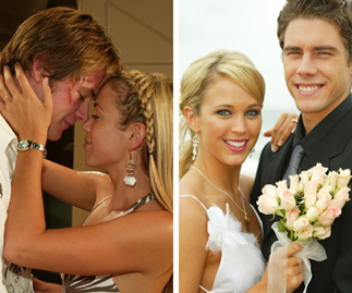 Home and Away flashback:  Every Summer Bay heartthrob Bec Hewitt's character Hayley was romantically linked to