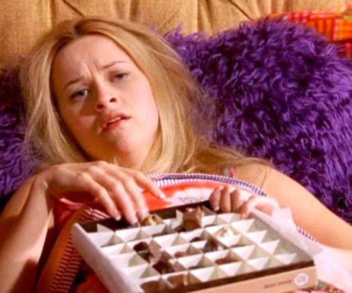 A little bit of dark chocolate? Yes please!