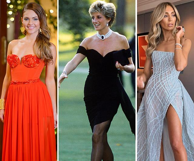 The best revenge dresses worn by celebrities from royalty to reality stars