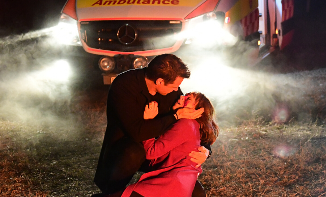 Doctor Doctor finale spoilers: Will Hugh lose Penny forever in a fiery car crash?