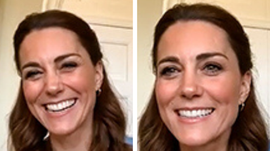 Duchess Catherine wears a $500 jumper during video call to new mother who just gave birth in lockdown