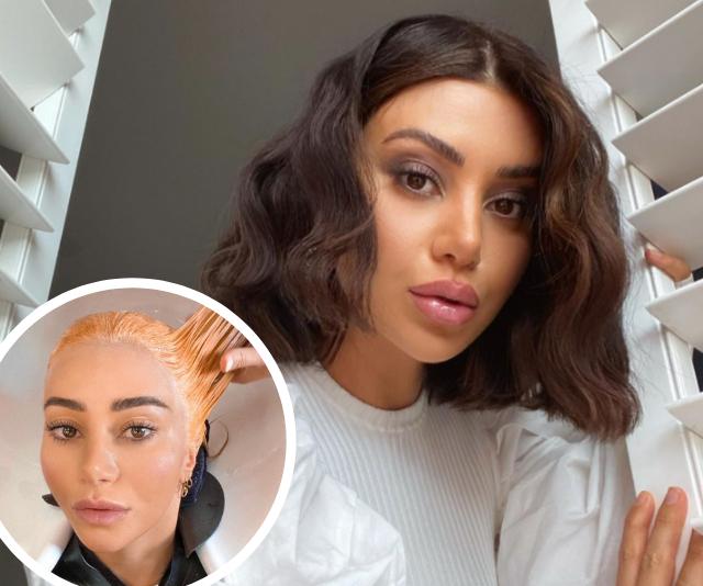 MAFS' Martha Kalifatidis has undergone TWO dramatic hair transformations in just one day