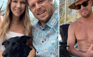 Pro surfer Mick Fanning unexpectedly brought to light the ultimate hack for looking after your pup in quarantine