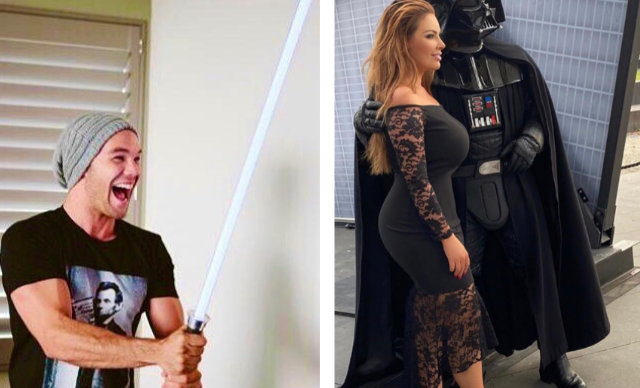 May the 4th be with you! How your favourite celebrities are celebrating Star Wars day