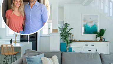 Relaxed, free-flowing coastal bliss: Inside House Rules couple Tanya and Dave's stunning home transformation
