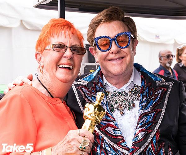 Real life: I count myself lucky to call Elton John a friend