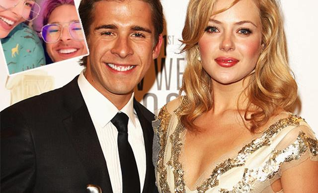 Jessica Marais turns to good friend Hugh Sheridan for support following her recent hospitalisation