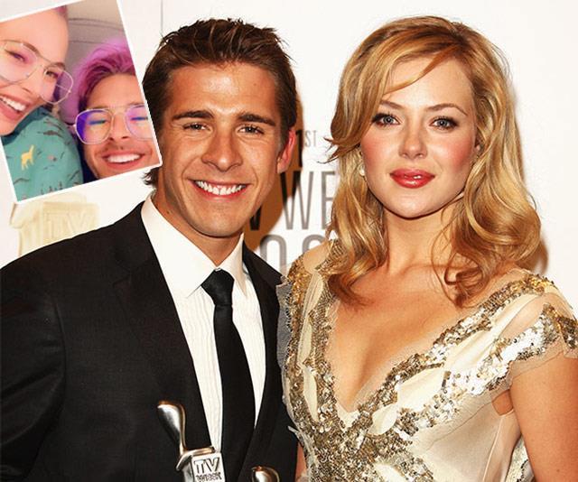 Jessica Marais turns to good friend Hugh Sheridan for support following her recent hospitalisation