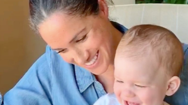 Duchess Meghan and Prince Harry just dropped an extremely rare new picture and video of their son Archie - and it was well worth the wait