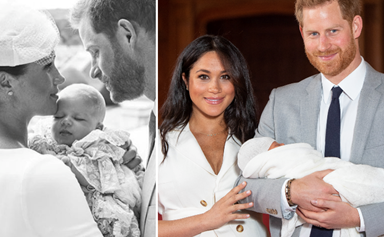 Archie's birth, exactly a year ago, was the first major clue that Harry and Meghan were having second thoughts about being in the royal family