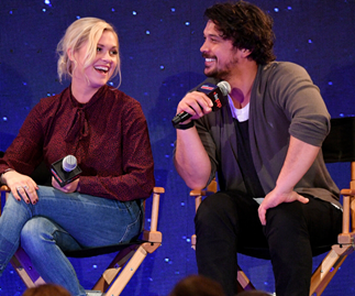 """If nothing else in my life, I did one thing right"": Bob Morley and Eliza Taylor celebrate one year of marriage"