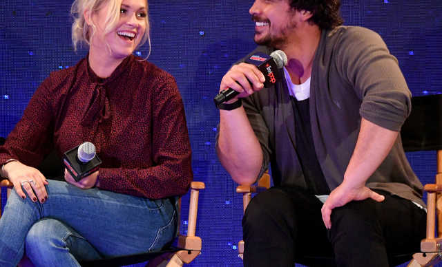"""""""If nothing else in my life, I did one thing right"""": Bob Morley and Eliza Taylor celebrate one year of marriage"""