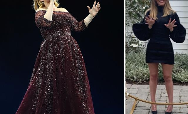 Adele shares rare photo on social media and stuns fans with her dramatic transformation