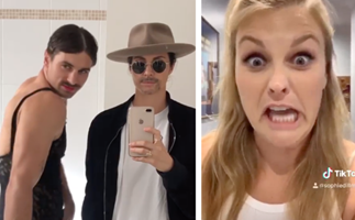 Celebrities are losing it in self-isolation and their hilarious videos are helping us get through it all